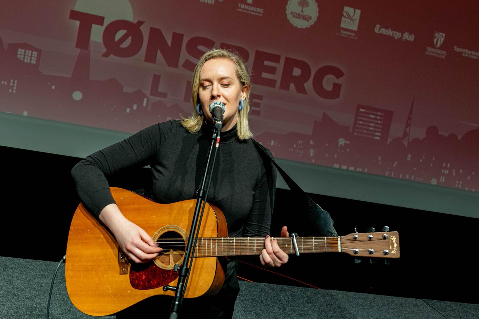 Agnes Stock på Tønsberg Live