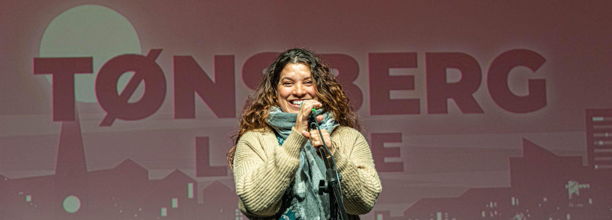 Martine Biong på Tønsberg Live